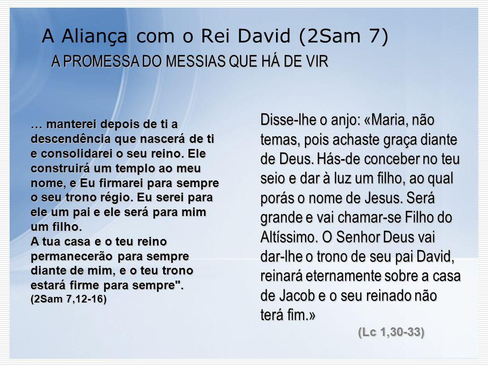 A Aliança com o Rei David (2Sam 7)