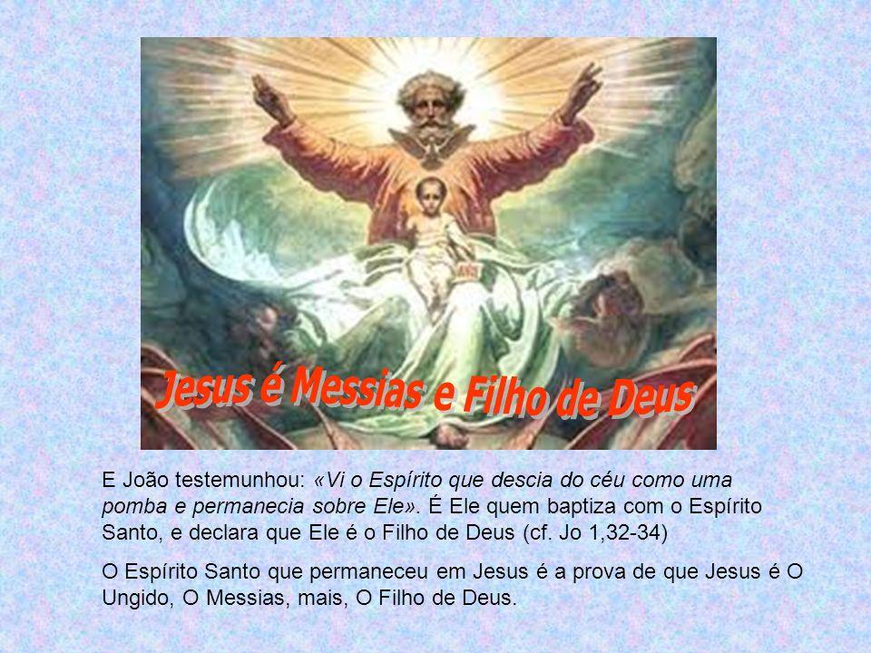 Jesus é Messias e Filho de Deus