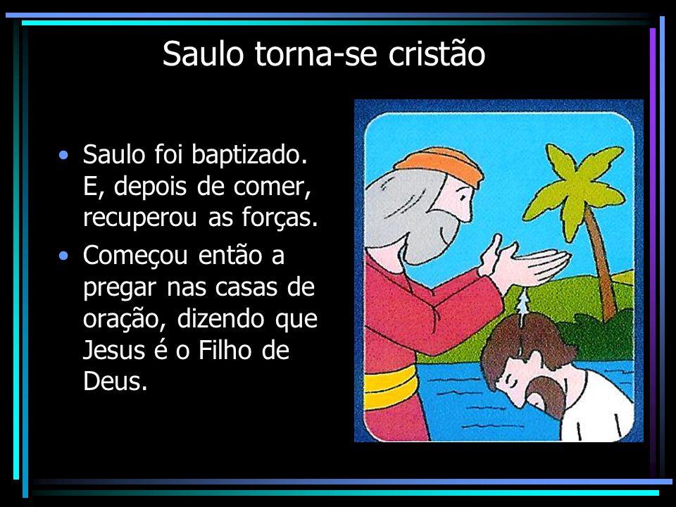 Saulo torna-se cristão