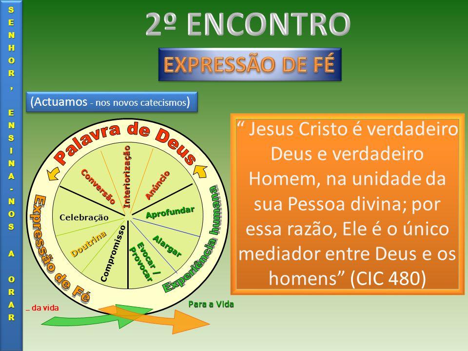 2º ENCONTRO EXPRESSÃO DE FÉ Palavra de Deus