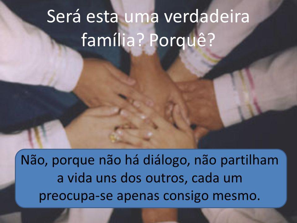 Será esta uma verdadeira família Porquê