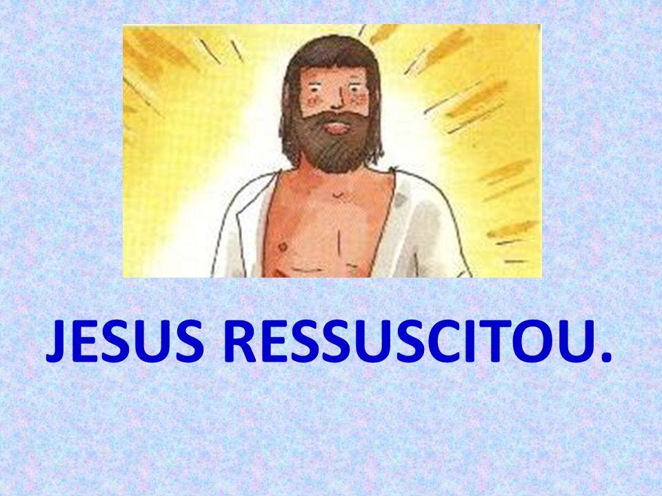 JESUS RESSUSCITOU.