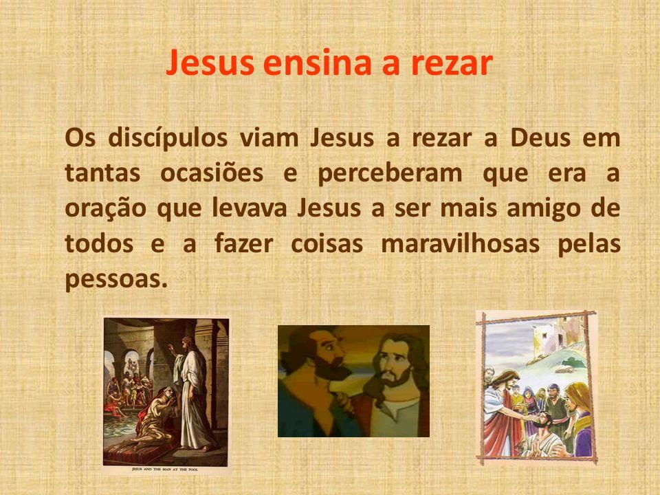Jesus ensina a rezar