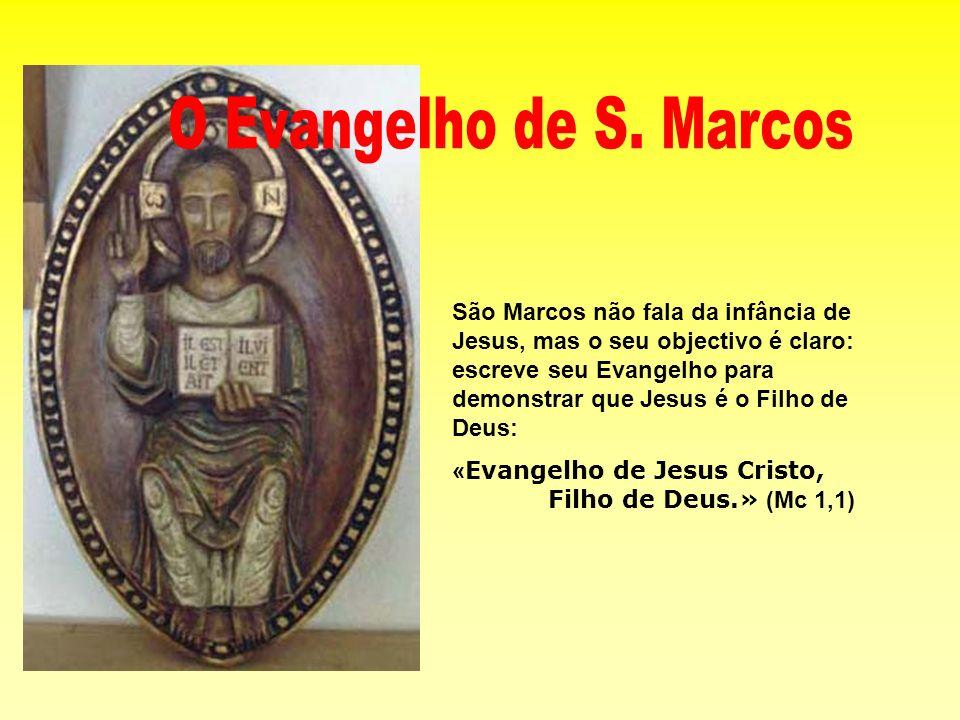 O Evangelho de S. Marcos