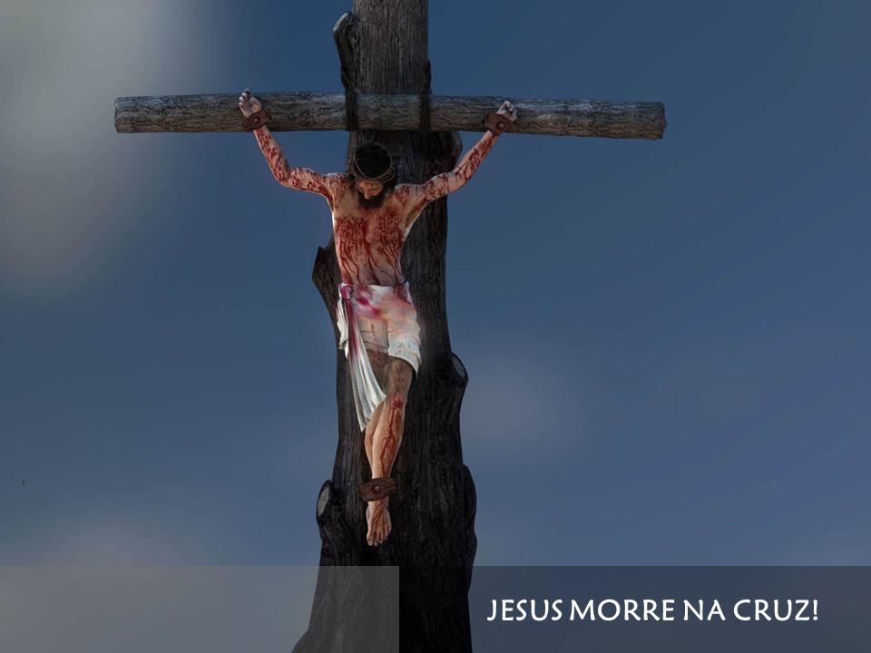 JESUS MORRE NA CRUZ!