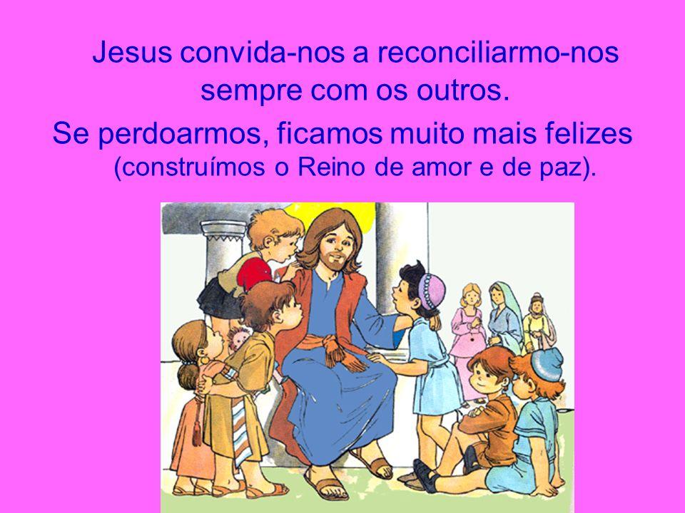 Jesus convida-nos a reconciliarmo-nos sempre com os outros