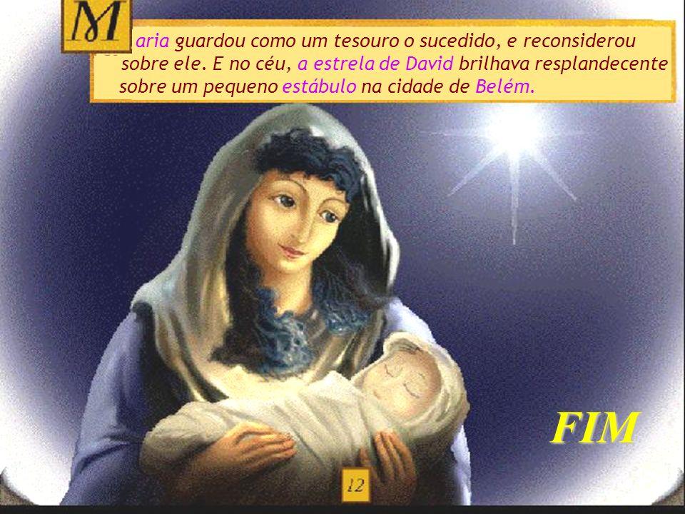 FIM Jesus, Maria e José, que esteja sempre com os três