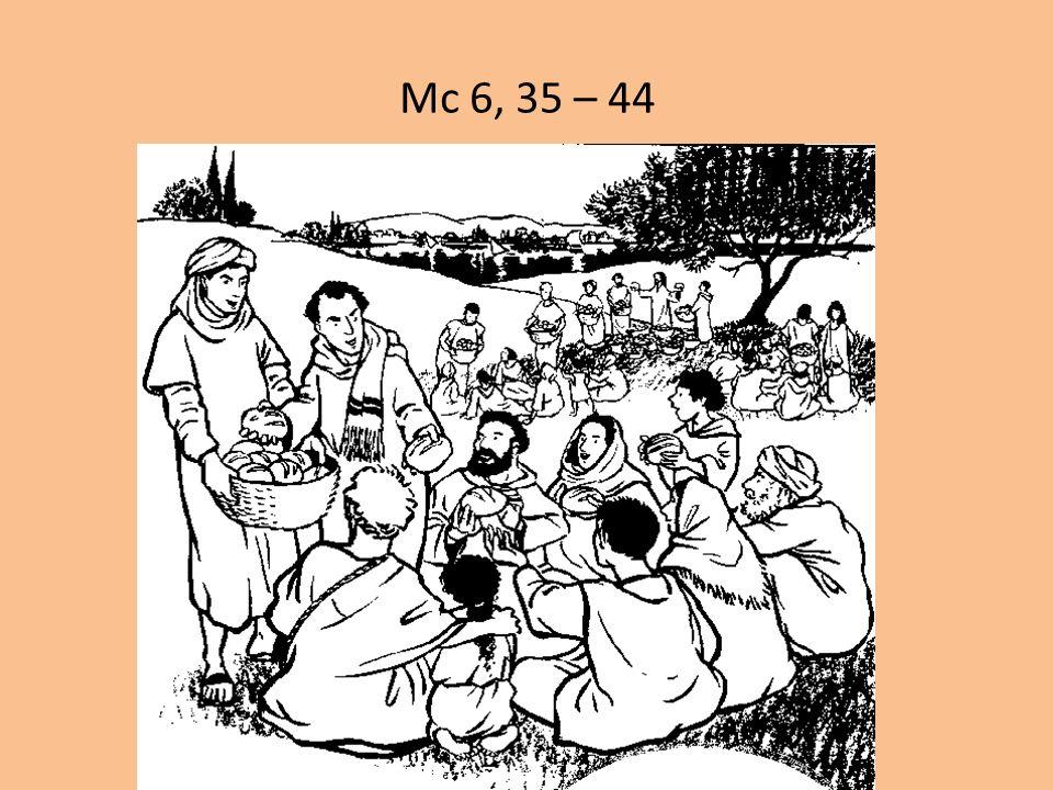 Mc 6, 35 – 44 «