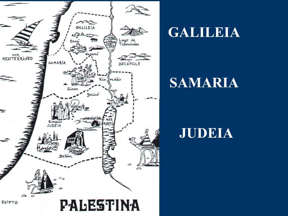 GALILEIA SAMARIA JUDEIA