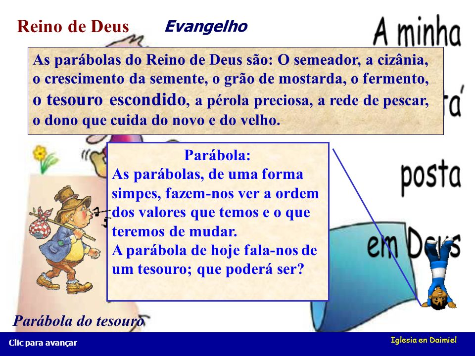 Reino de Deus Evangelho