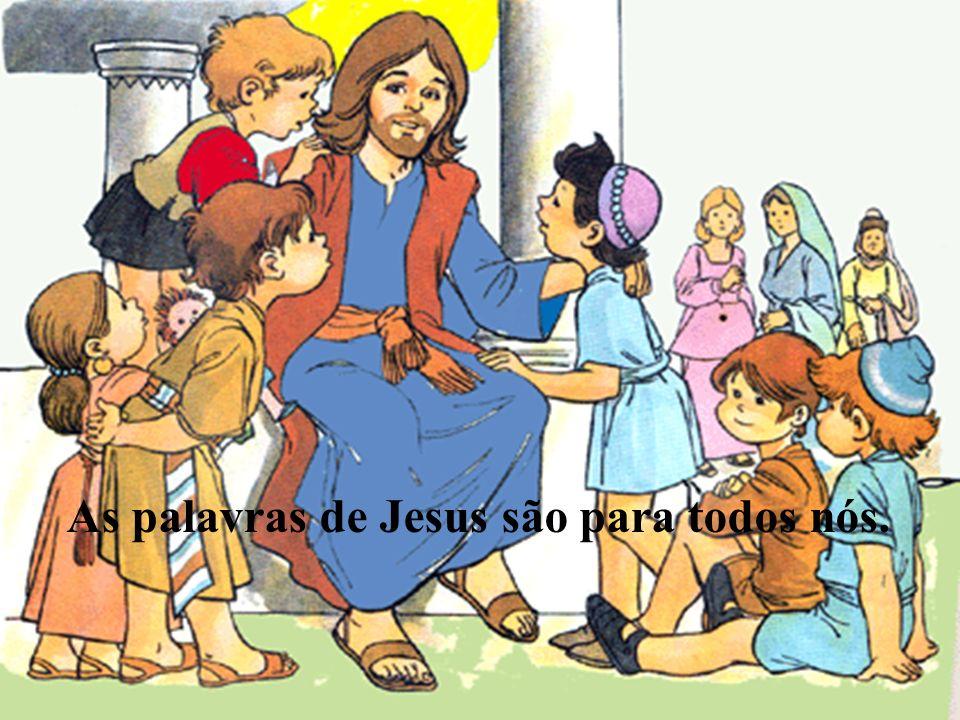 «Bendigo-te, ó Pai, Senhor do Céu e da Terra, porque escondeste estas coisas aos sábios e aos inteligentes e as revelastes aos pequeninos. Sim, Pai, porque assim foi do teu agrado. Tudo me foi entregue por meu Pai e ninguém conhece quem é o Filho senão o Pai, nem quem é o Pai senão o Filho…»