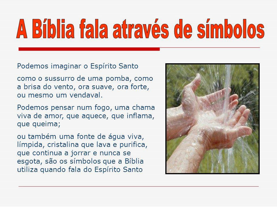 A Bíblia fala através de símbolos