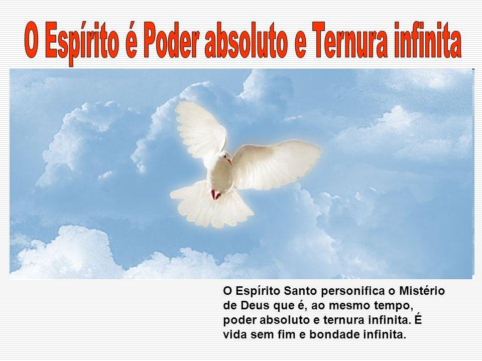 O Espírito é Poder absoluto e Ternura infinita