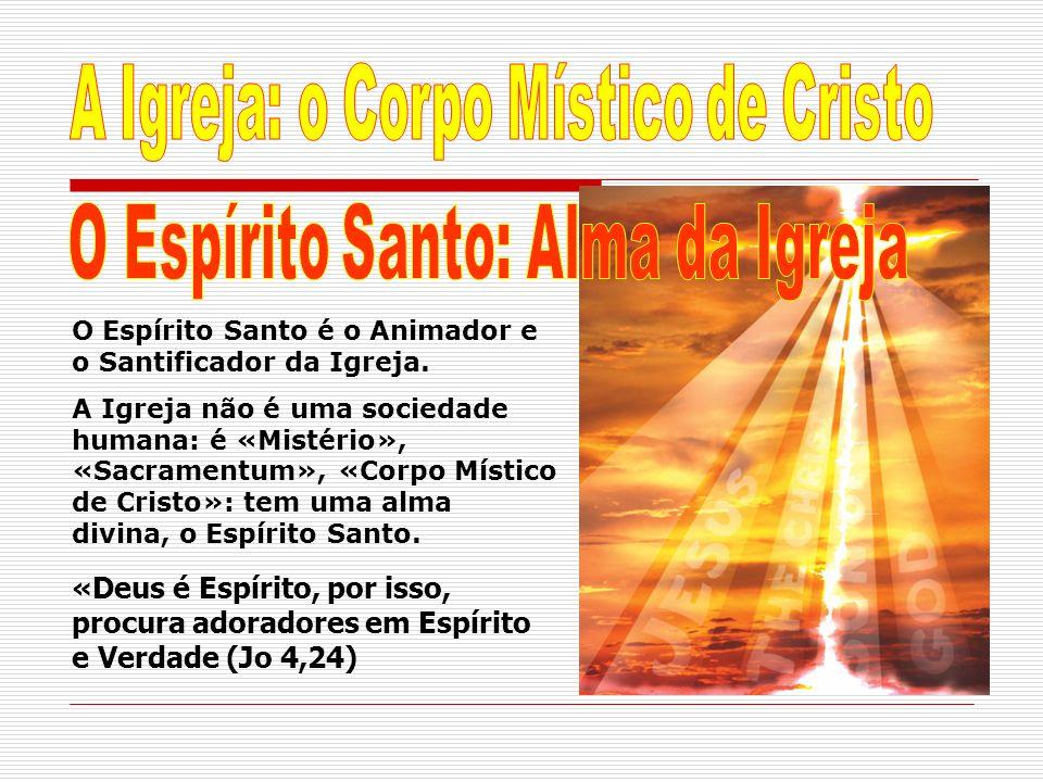 A Igreja: o Corpo Místico de Cristo