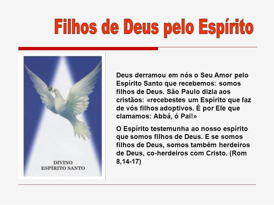 Filhos de Deus pelo Espírito