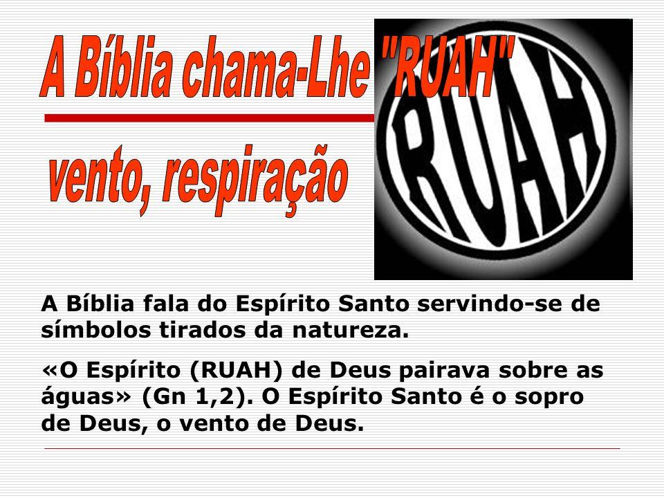 A Bíblia chama-Lhe RUAH