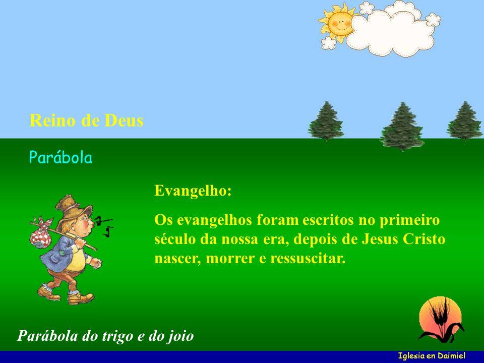 Reino de Deus Parábola Evangelho: