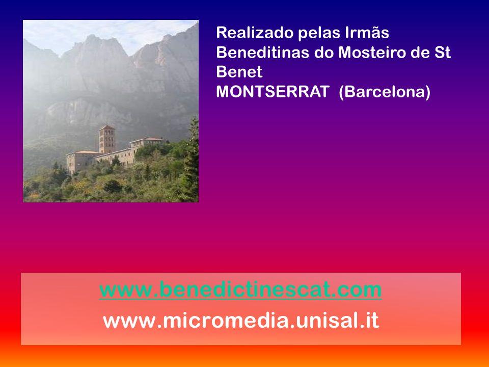 www.benedictinescat.com www.micromedia.unisal.it