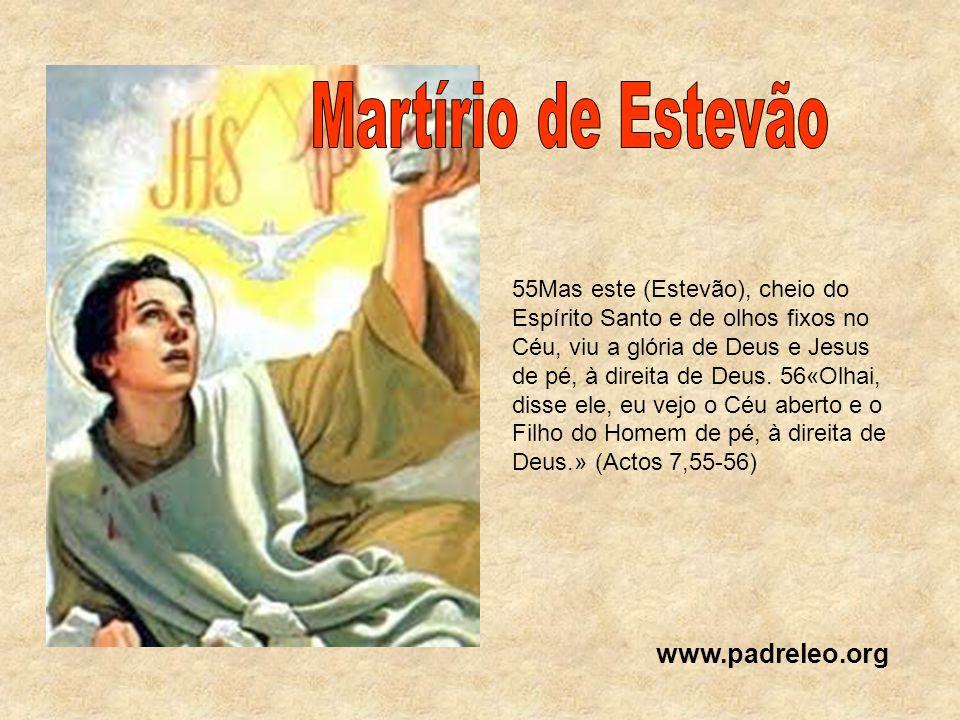 Martírio de Estevão www.padreleo.org