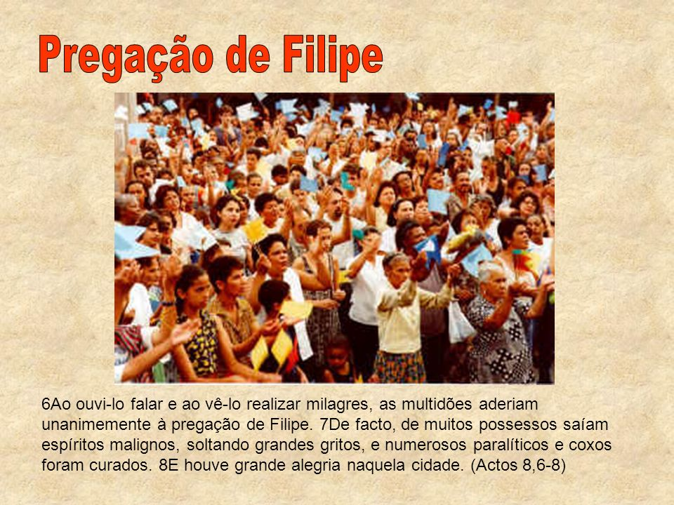 Pregação de Filipe