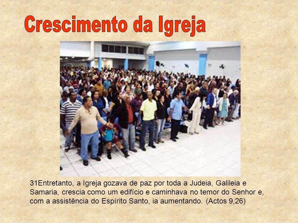Crescimento da Igreja