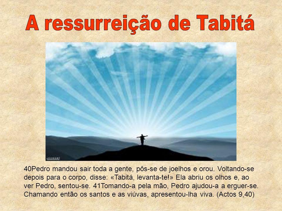 A ressurreição de Tabitá