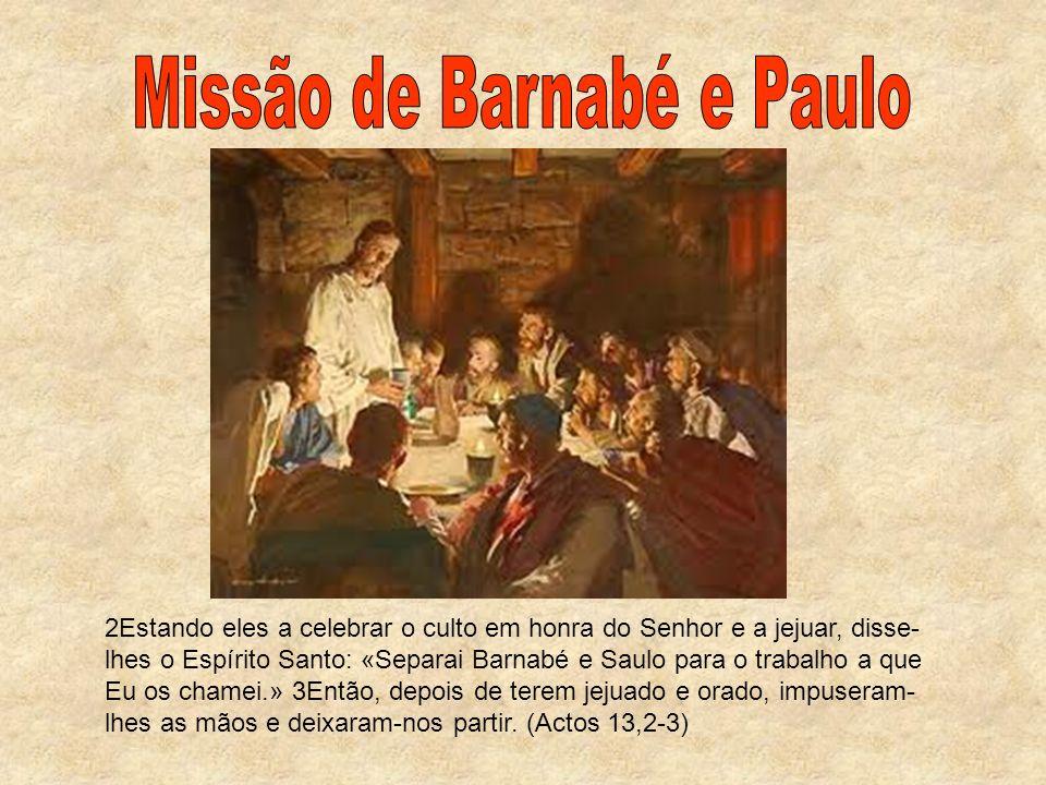 Missão de Barnabé e Paulo