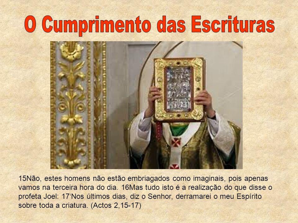 O Cumprimento das Escrituras