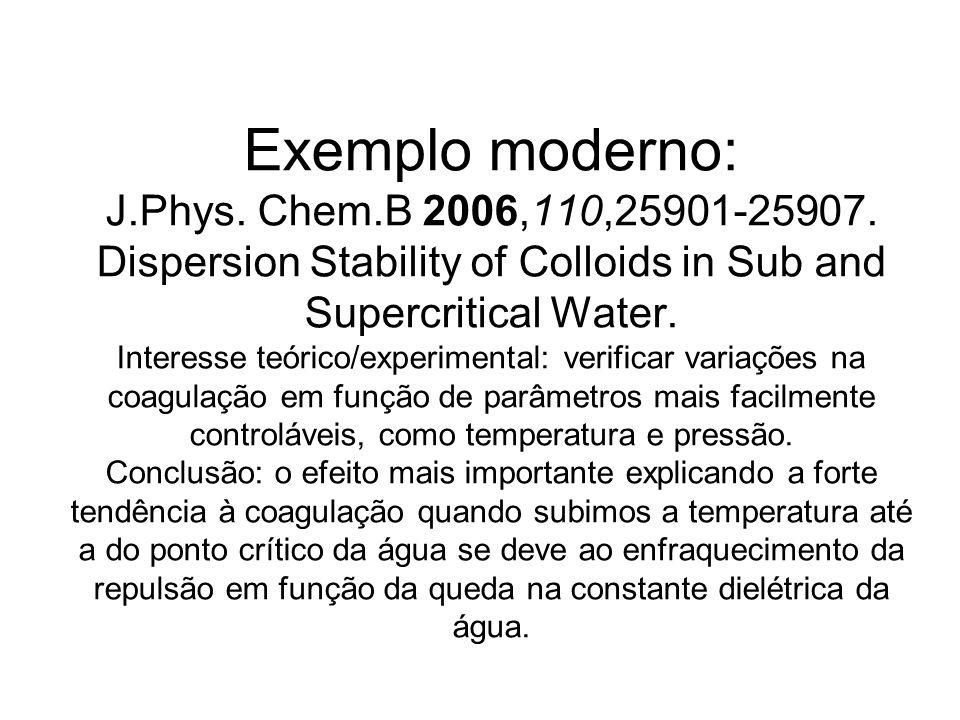 Exemplo moderno: J. Phys. Chem. B 2006,110,25901-25907