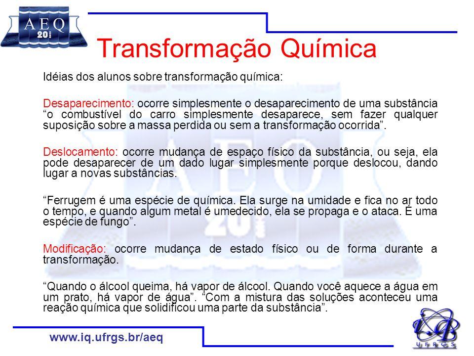 Transformação Química