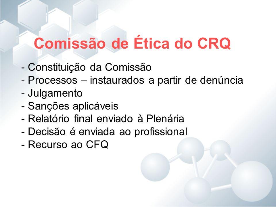 Comissão de Ética do CRQ