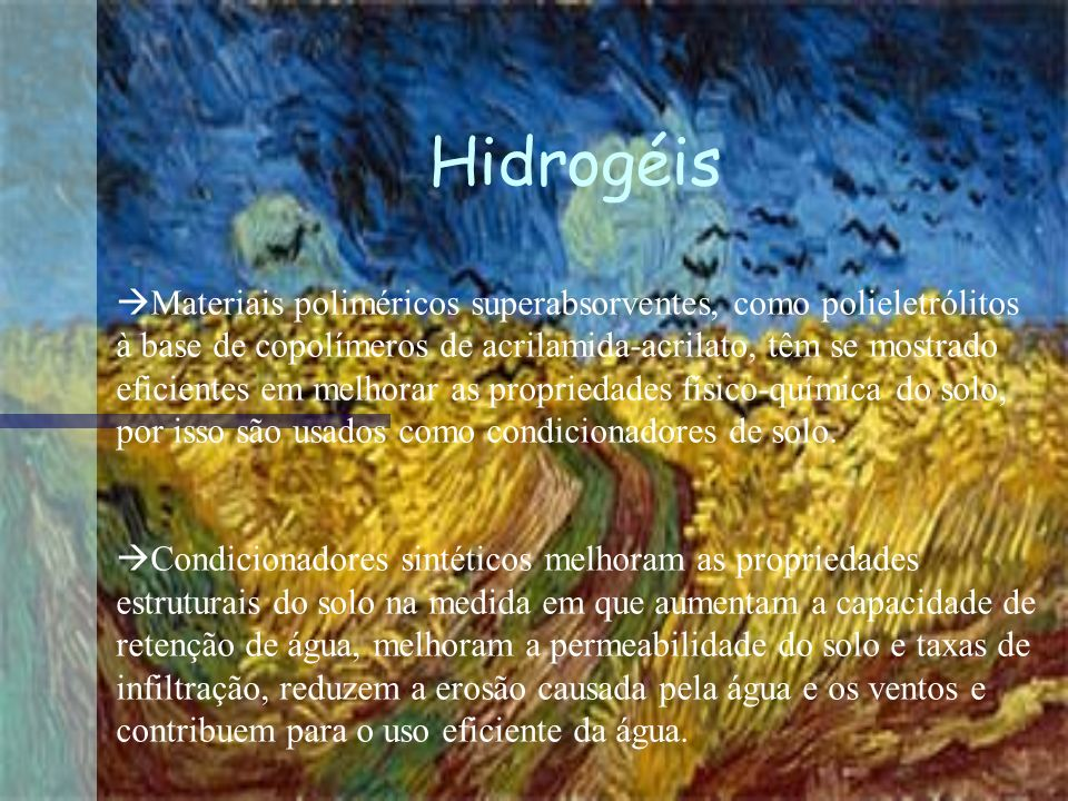 Hidrogéis
