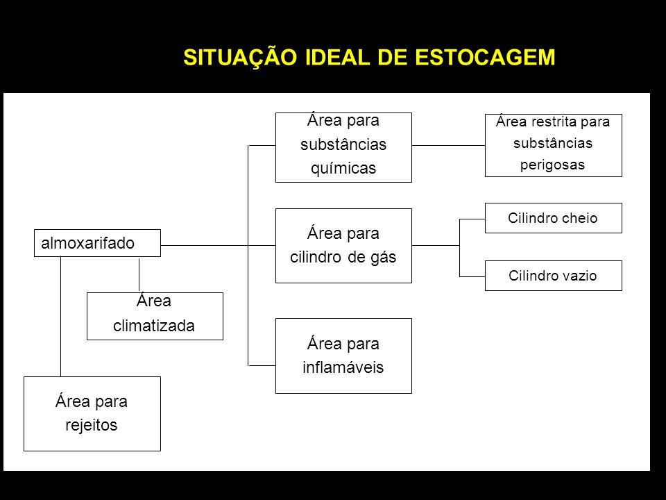 SITUAÇÃO IDEAL DE ESTOCAGEM