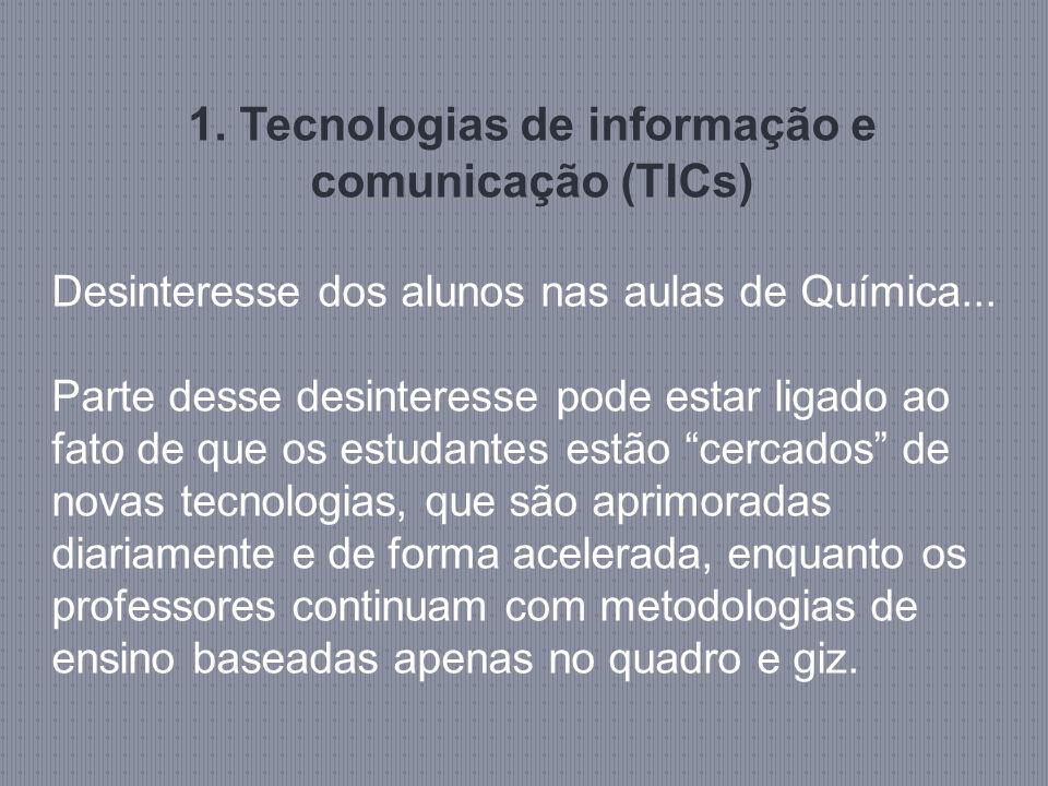 1. Tecnologias de informação e comunicação (TICs)