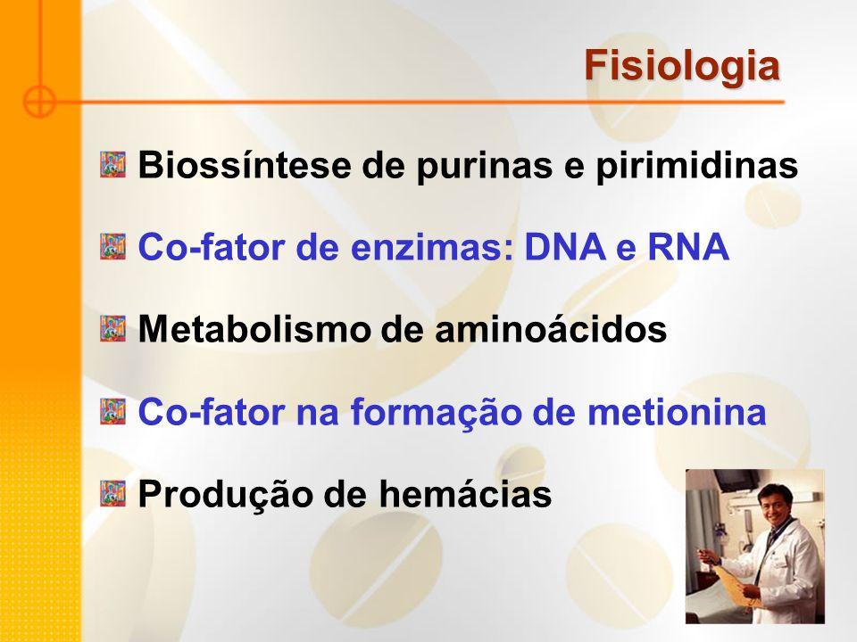 Fisiologia Biossíntese de purinas e pirimidinas