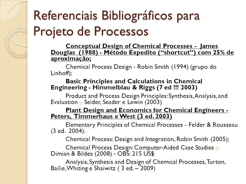 Referenciais Bibliográficos para Projeto de Processos