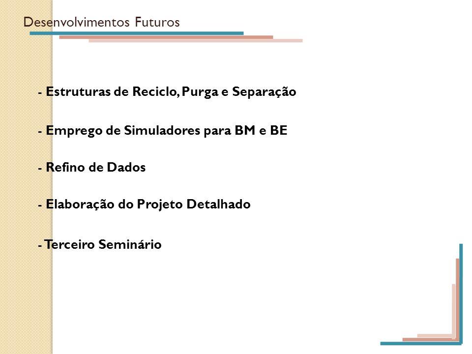 Desenvolvimentos Futuros