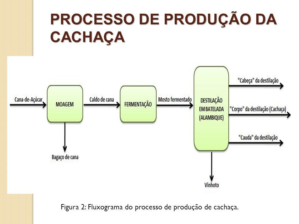 PROCESSO DE PRODUÇÃO DA CACHAÇA