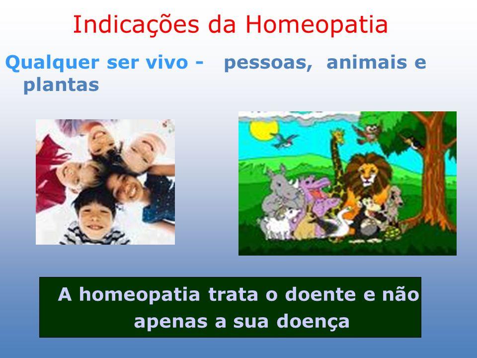 Indicações da Homeopatia