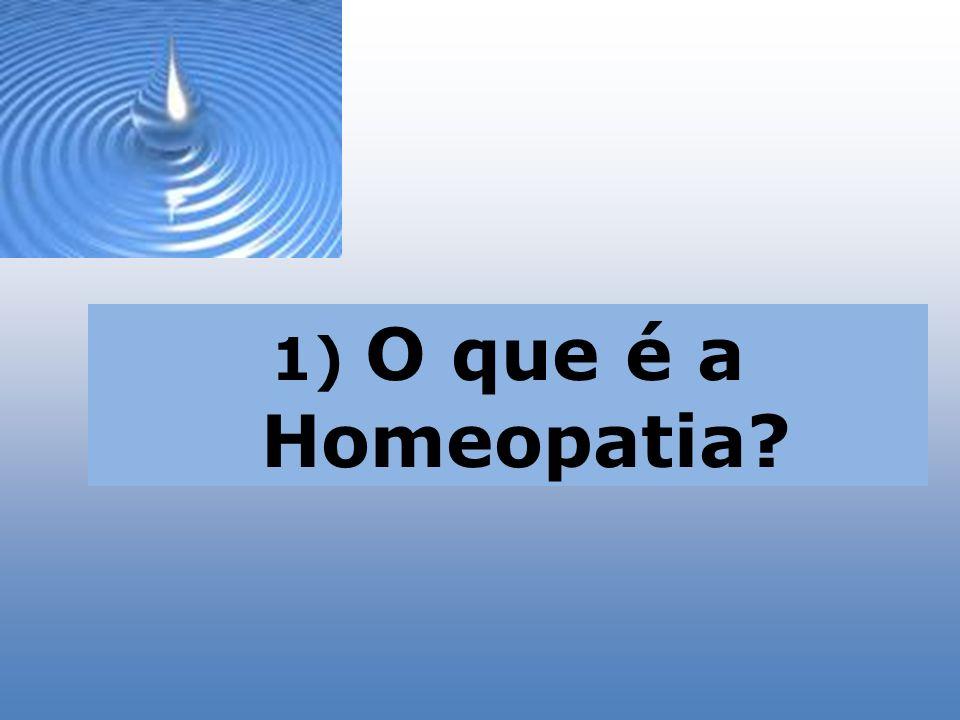 O que é a Homeopatia