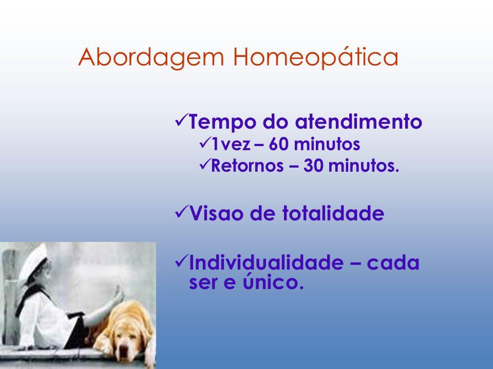 Abordagem Homeopática