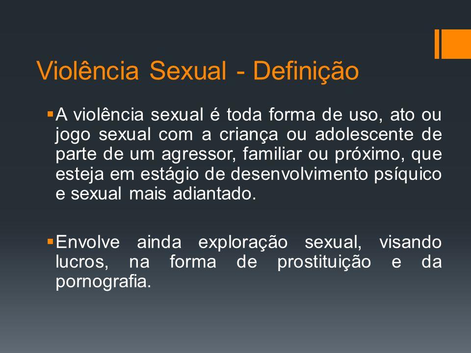 Violência Sexual - Definição