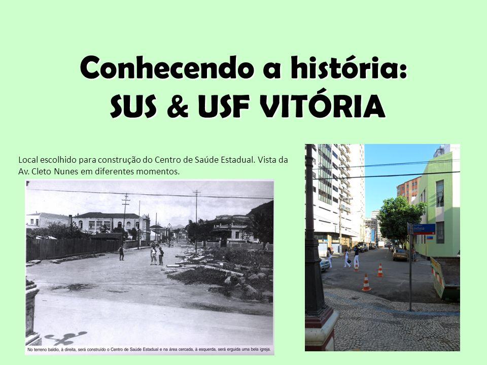 Conhecendo a história: SUS & USF VITÓRIA