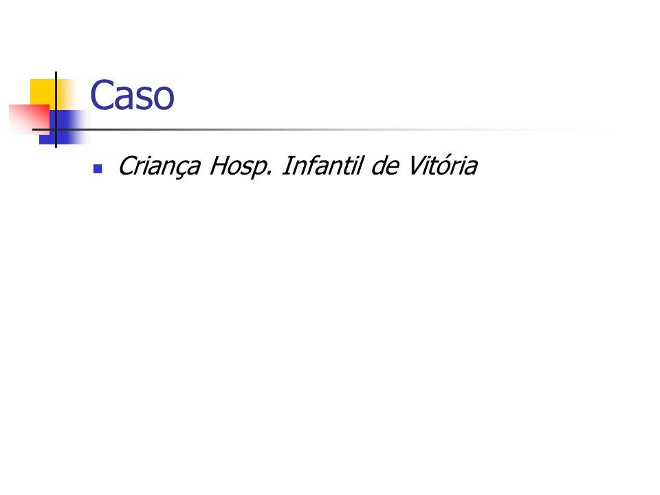 Caso Criança Hosp. Infantil de Vitória