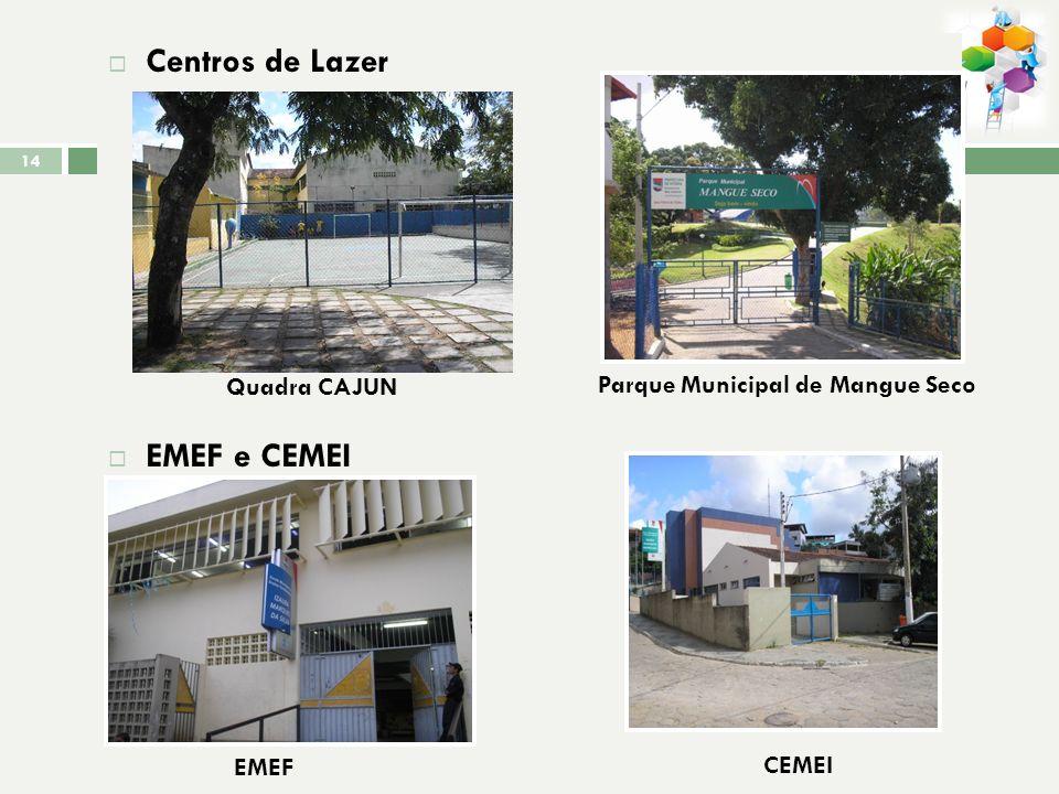Centros de Lazer EMEF e CEMEI Quadra CAJUN