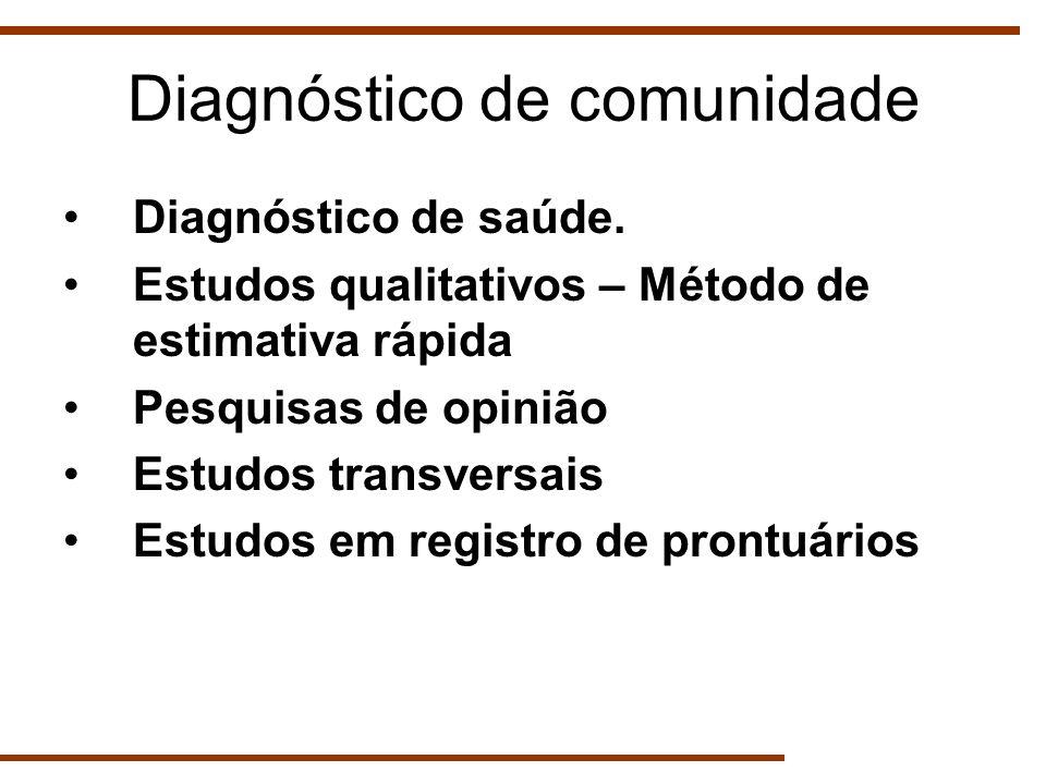 Diagnóstico de comunidade