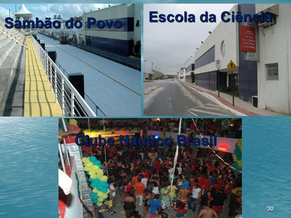 Escola da Ciência Sambão do Povo Clube Náutico Brasil