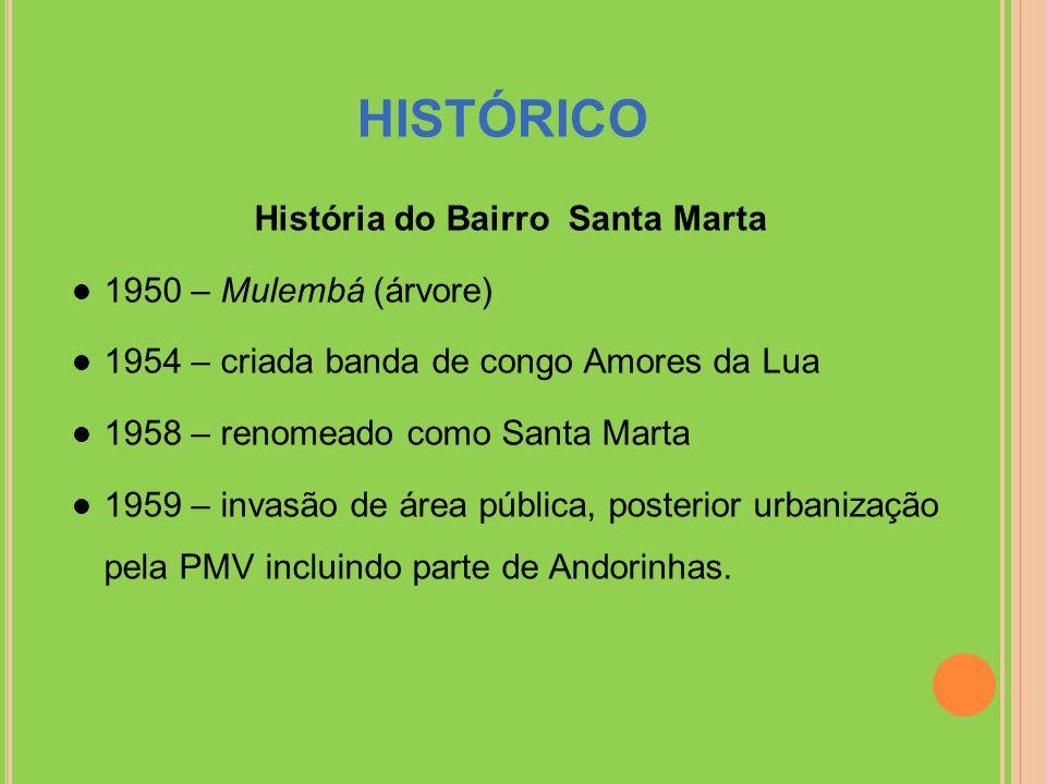 História do Bairro Santa Marta