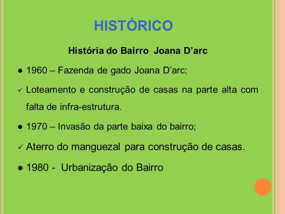 História do Bairro Joana D'arc