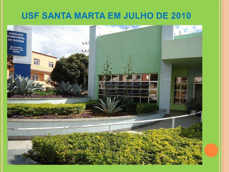 USF SANTA MARTA EM JULHO DE 2010